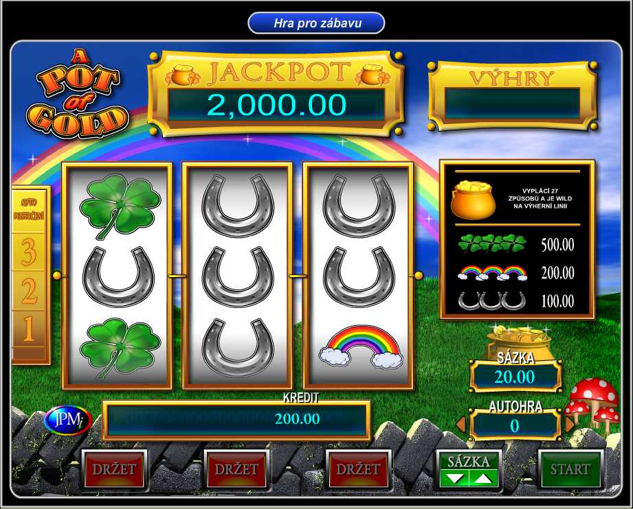 Online slot A pot of gold