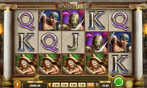Online slot Game of Gladiators