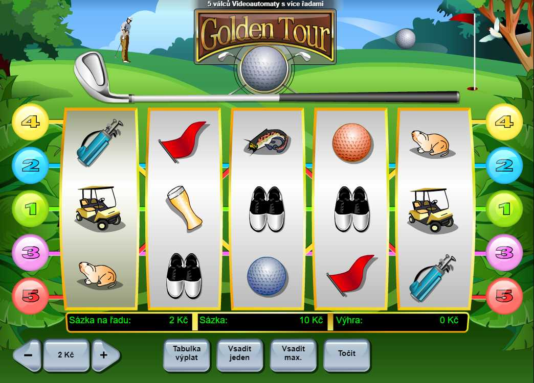 Online slot Golden Tour