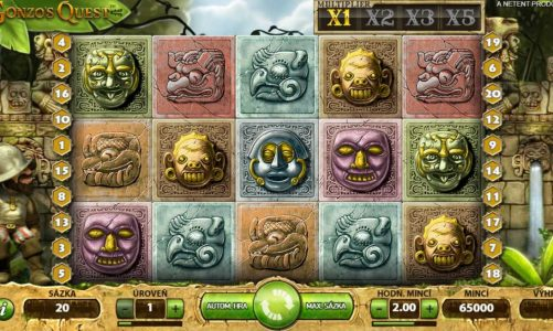 Hrací online slot Gonzo's Quest