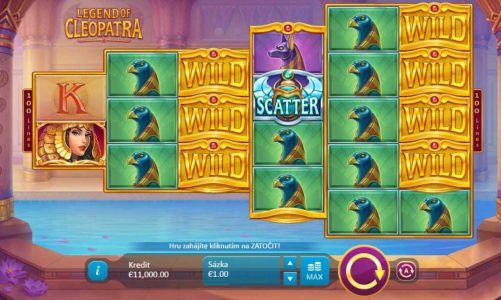 Hrací online slot Legend of Cleopatra