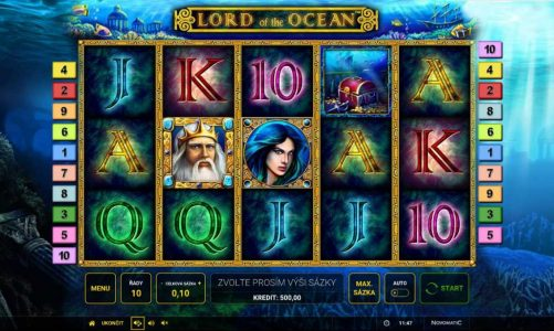 Online automat Lord of The Ocean