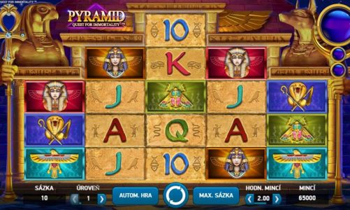 Casino hrací automat Pyramid: Quest for Immortality