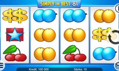 Online slot Simply the Best 81