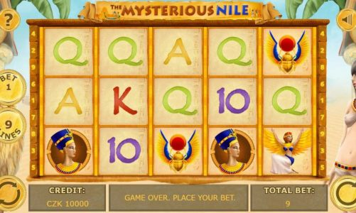 Hrací online slot The Mysterious of Nile