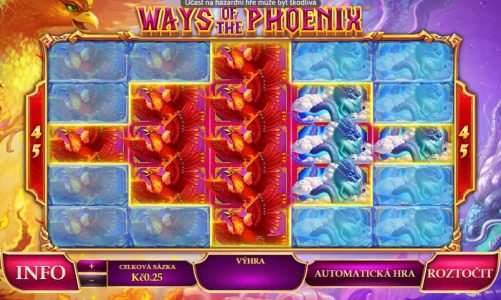 Online hrací automat Ways of the Phoenix