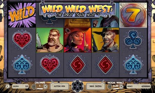 Casino hrací automat Wild Wild West: The Great Train Heist
