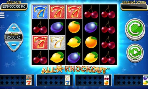 Casino hrací automat All Star Knockout