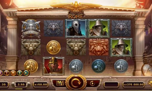 Online slot Champions of Rome