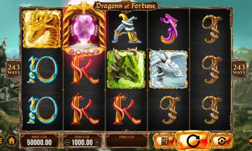 Casino výherní automat Dragons of Fortune