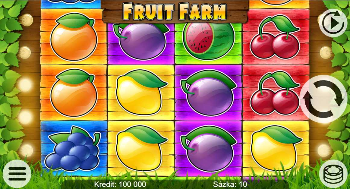 Online automat Fruit Farm