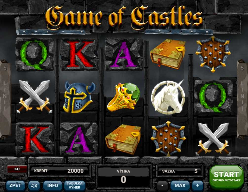 Online hrací automat Game of Castles