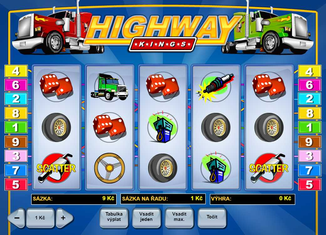 Online hrací automat Highway Kings