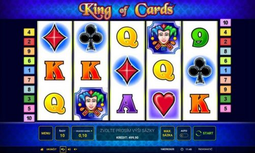 Online automat King of Cards