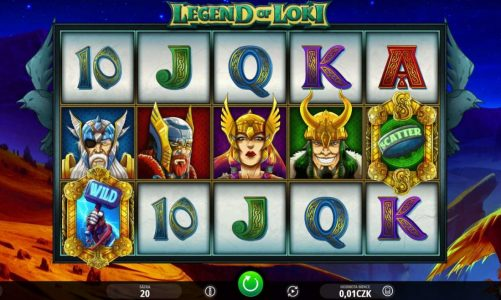 Online slot Legend of Loki