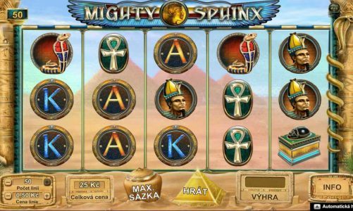 Online automat Mighty Sphinx