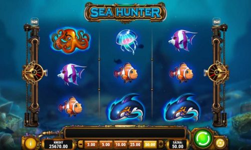 Online automat Sea Hunter