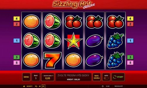 Casino hrací automat Sizzling Hot Deluxe