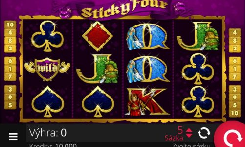 Online slot Sticky Four