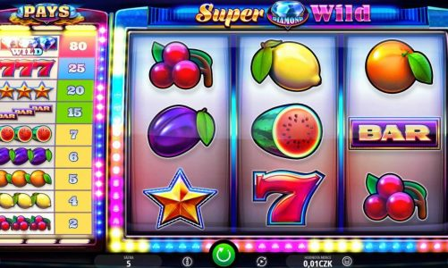 Online výherní automat Super Diamond Wild