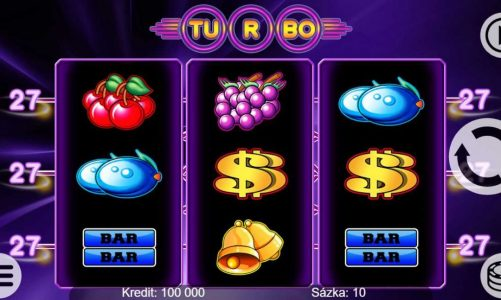 Casino výherní automat Turbo 27
