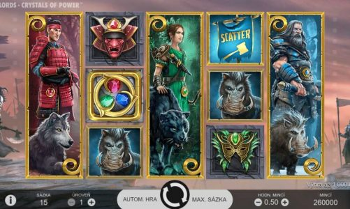 Hrací online slot Warlords: Crystals of Power